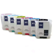 vilaxh for HP 84 85 Refillable ink cartridge replacement Designjet 130 130gp 130nr 30 30gp 30n 90 90gp 90r printer