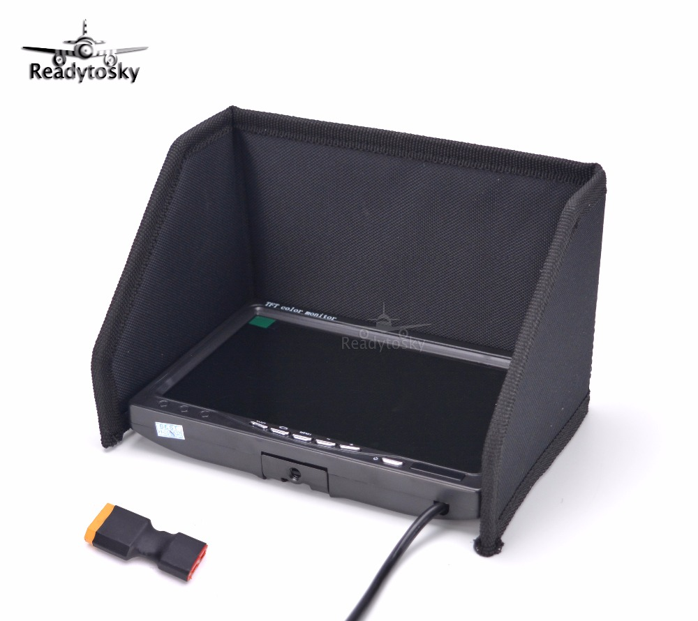 """New NO blue 7""""FPV LCD Color 1024 x 600 IPS FPV Monitor Video Screen 7 inch for Rc Multicopter Ground Station ZMR250 QAV280"""