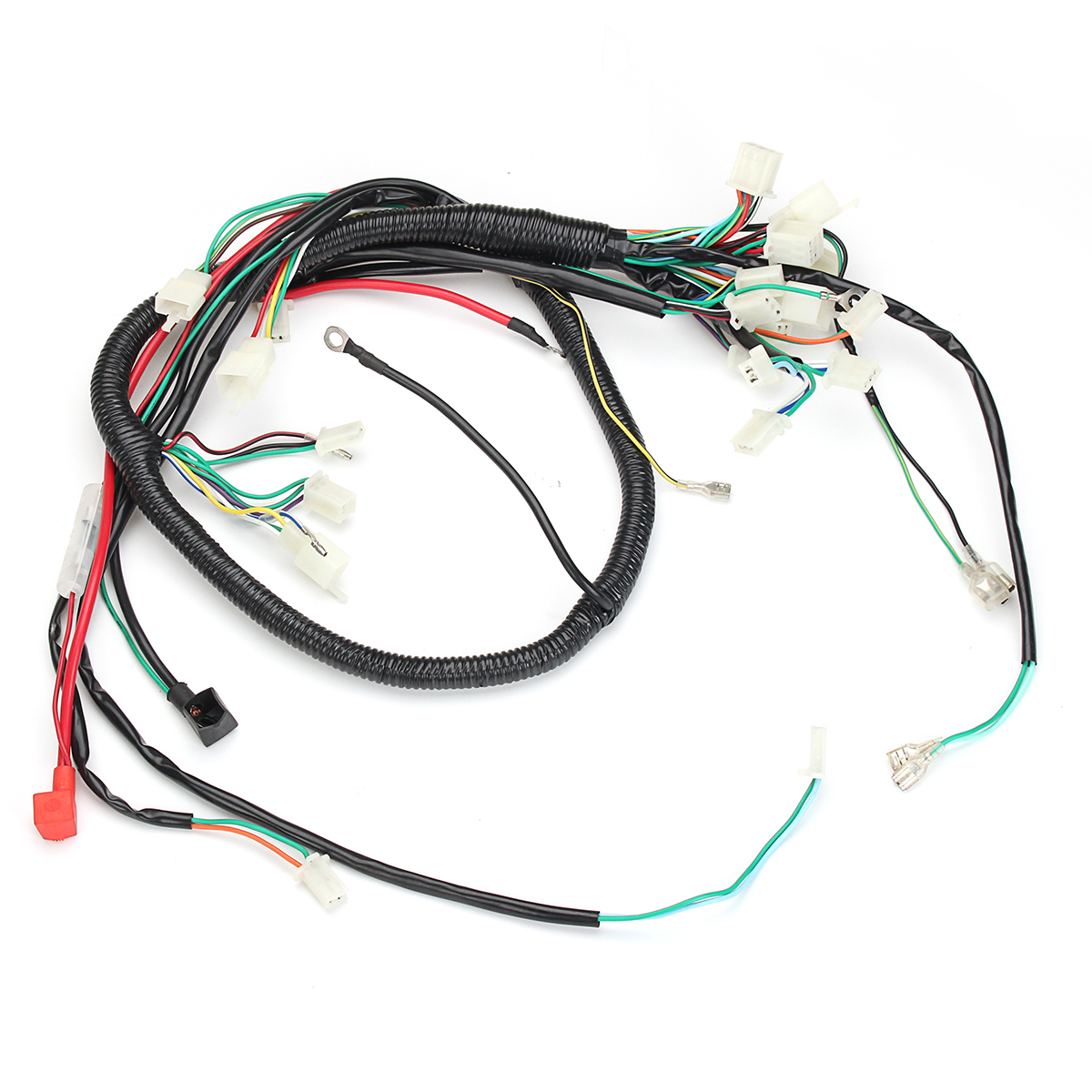 Fits For Gy6 125cc 150cc Atv Quad Bike Go Kart Wire Loom Coil Wiring Harness Assembly Length 189cm Car Lights In From Automobiles Motorcycles On