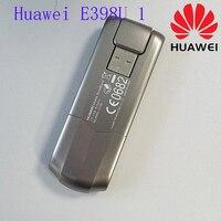 Unlocked Original Huawei E398 E398u 1 100Mbps 4G LTE USB Modem Wireless Data Card USB STICK+49dbi 4g TS9 dual connector antenna