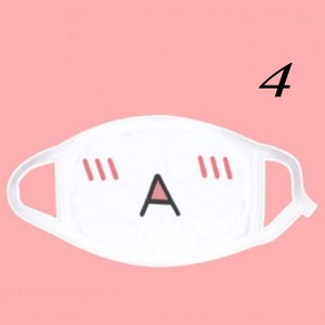 Image 4 - 1PCS Face Mouth Mask Unisex Mouth muffle Unisex Respirator Stop Air Pollution Cartoon Lovely Cotton Mask