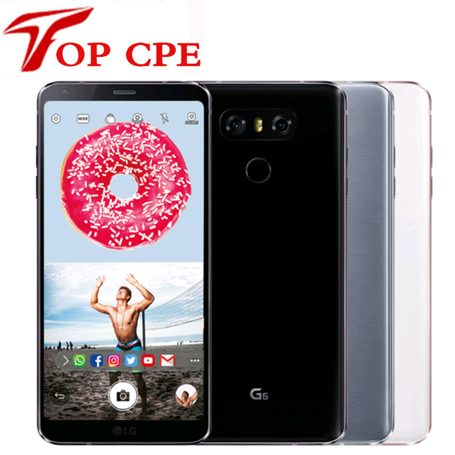 Original Unlocked LG G6 H870 H871 H873 VS988 4G RAM 32G ROM Quad core 13MP  5 7'' 4G LTE Mobile Cell phone 1080P GPS Wifi Phone-in Mobile Phones from