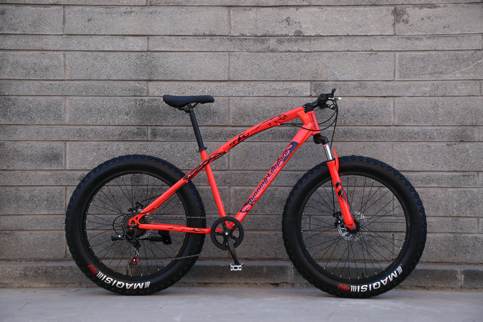 HTB1kupicXGWBuNjy0Fbq6z4sXXa3 Fat Bike Speed Change Cross-country Mountain Bike, 4.0 Super Wide Tires, Snow Sand Bicycle, Male And Female Student Bicycle