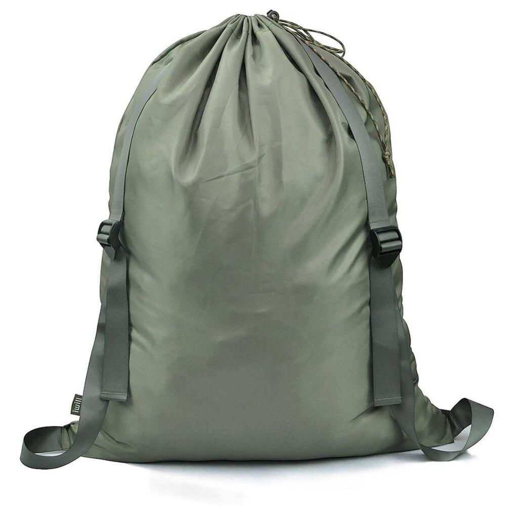 Oxford Cloth Laundry Bag With Adjustable Shoulder Straps Drawstring Closure For College Students Apartment Dorm Large Volume Bag