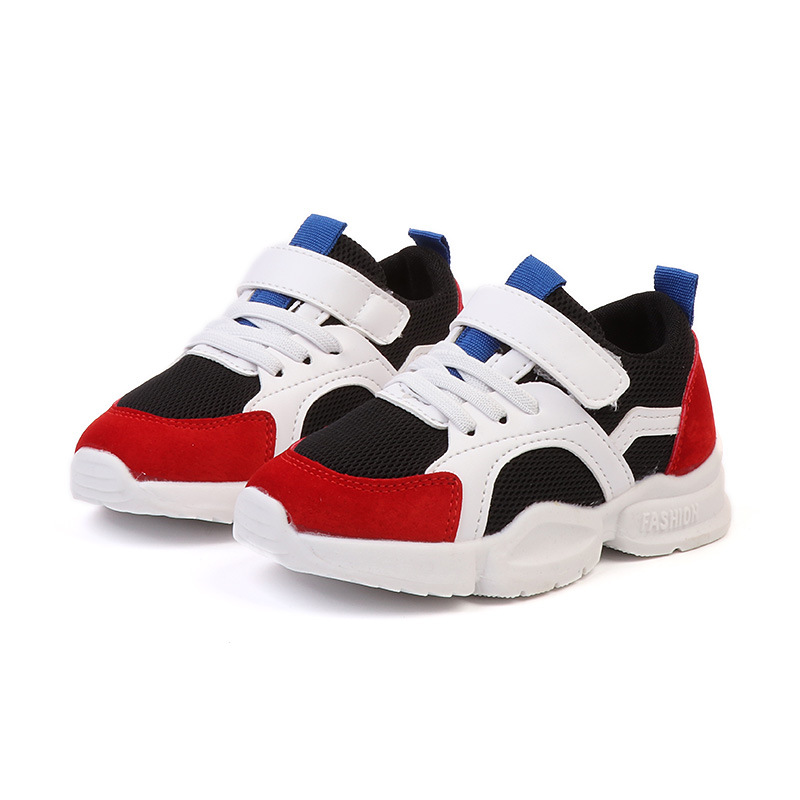 Children Shoes For Boys Sneakers Girls Mesh Sports Shoes Kids Fashion Breathable Sports Shoes Autumn Student School Casual Shoes