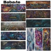 лучшая цена Babaite League of legends Mouse Pad Locked Edge Pad to Mouse Notbook Computer Mousepad 30x80cm Gaming Padmouse Gamer Best Seller