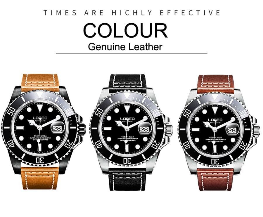 dial luxo masculino relógios automáticos de aço