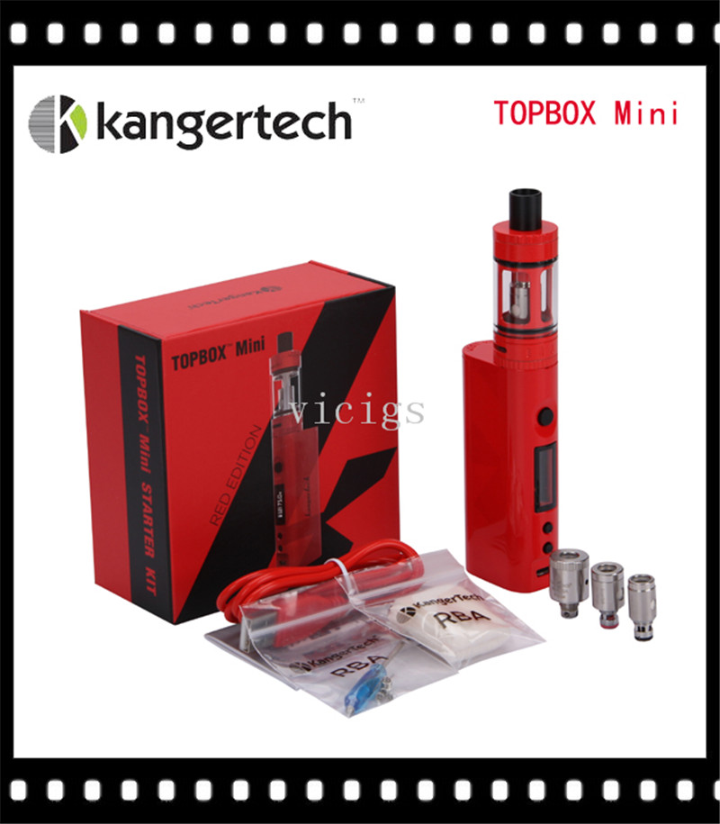 Original Kanger Topbox Mini Upgraded Subox Mini Starter kit 75W Subox Mini Pro Temperature Control Kit