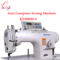 1PC KX9000D 3 Industrial sewing machine Computer Direct Drive Computer Sewing Machine With Truncated Head Trimmer 220V