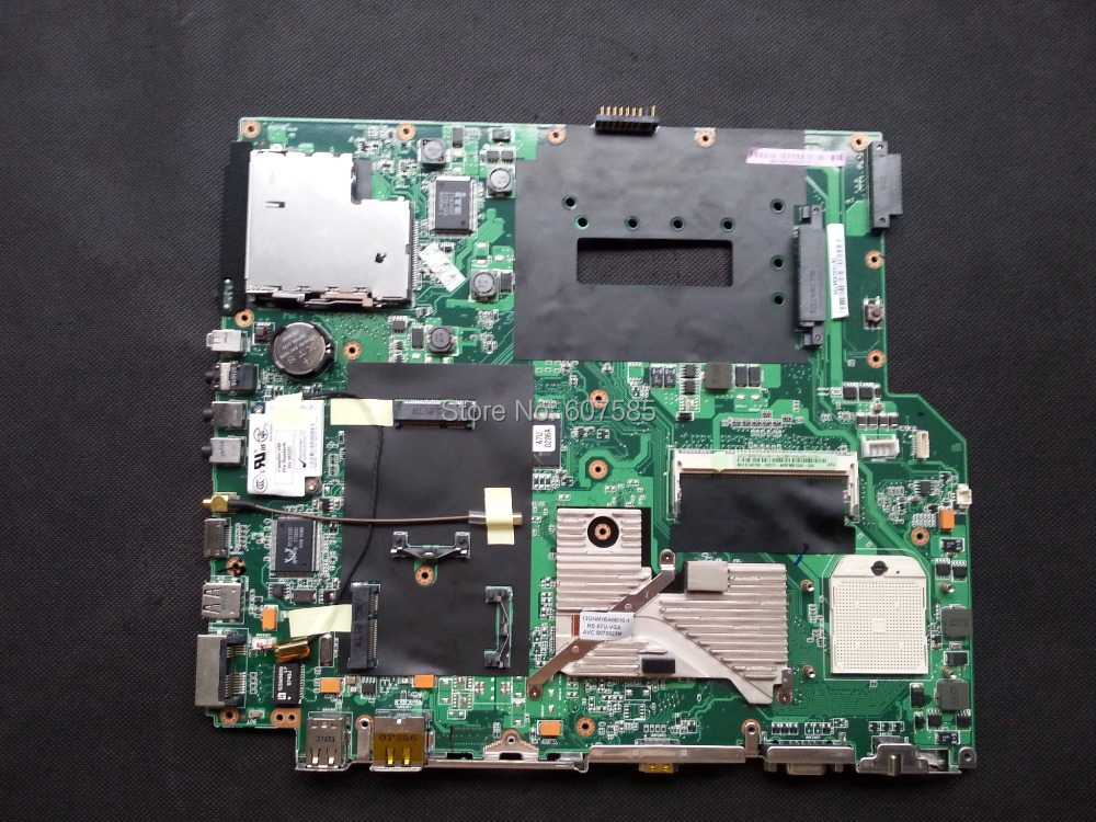 For ASUS A7U Laptop Motherboard Main Board DDR2 Fully tested all functions Work Good