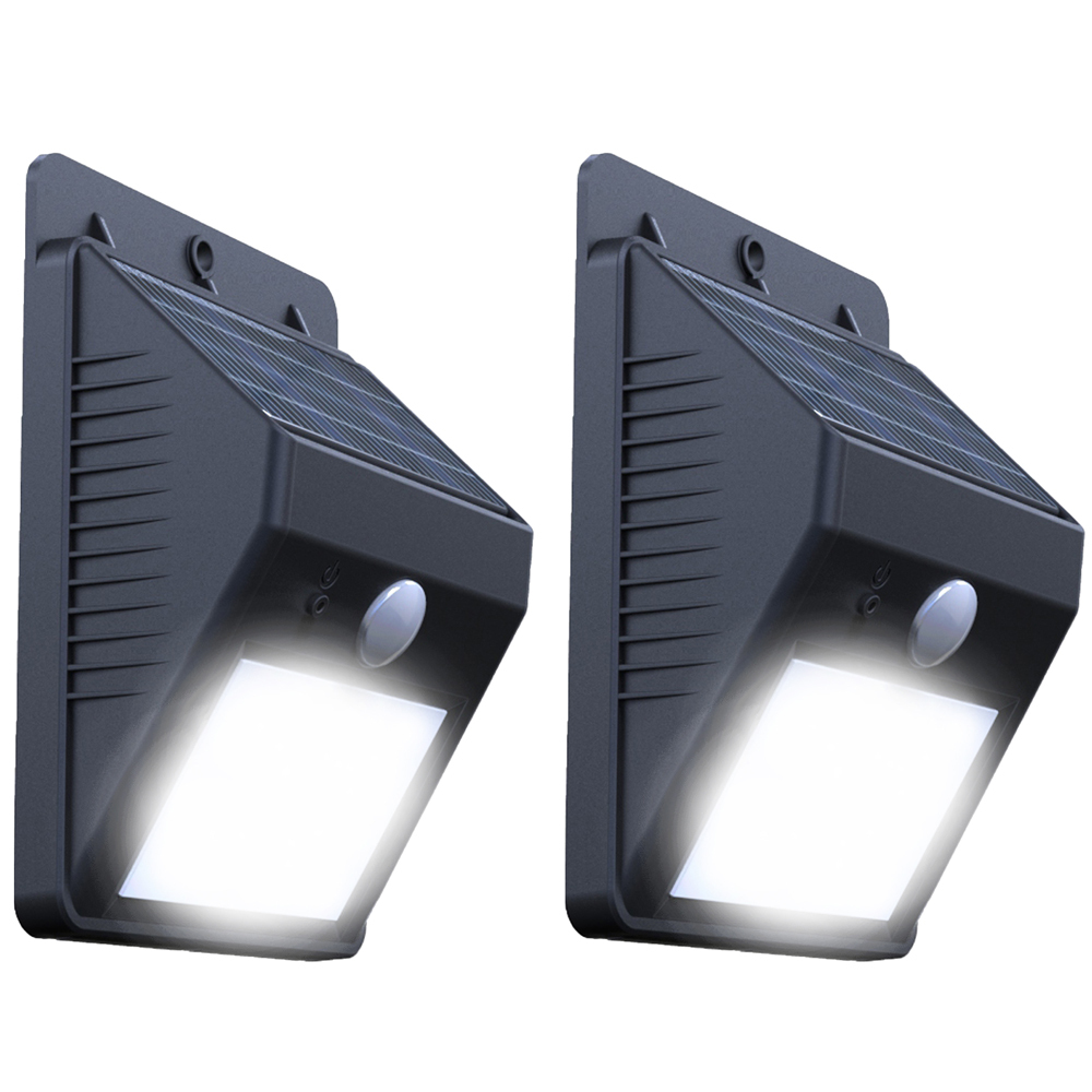 Solar Motion Lamp Wall Mounted Ray Pir Motion Sensor