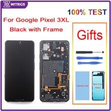 لجوجل بكسل 3 XL 3XL شاشة الكريستال السائل مجموعة المحولات الرقمية لشاشة تعمل بلمس استبدال مع الإطار Witrigs