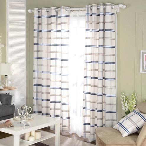 American country style blue plaid cloth curtains for bedroom and living  room China  Mainland. Online Get Cheap Plaid Country Curtains  Aliexpress com   Alibaba