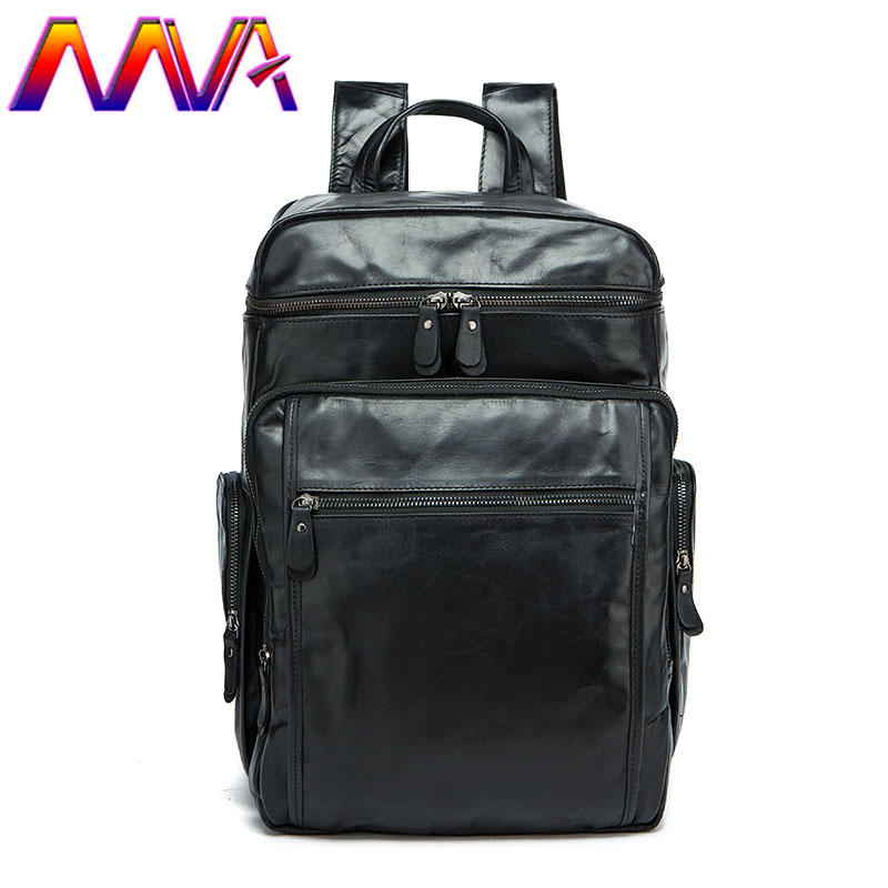 MVA Cheap leather men backpack for fashion students backpack with 100% genuine leather men backpack for leather travelling bags mva best quality cowhide leather men backpack for fashion travelling bag with genuine leather men backpack or crossbody bags