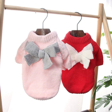 Купить с кэшбэком Dog clothes for small dogs winter jumpsuit dog hoodie french bulldog clothes fleece sweater felpe cane pets clothes 5d0141