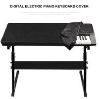 Teclado Digital electrónico de Piano a prueba de polvo duradero plegable para 88 61 teclas E2S|Cubiertas de piano| |  -