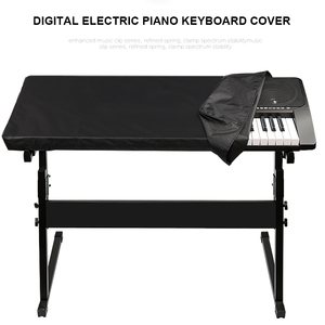 Waterproof Electronic Digital Piano Keyboard Cover Dustproof Storage Bag Durable Foldable For 88/61 Key(China)