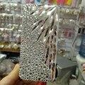 Роскошный Горный Хрусталь Кристалл Алмаза Coque Перья Телефон Случаях Задняя Крышка для iPhone 5S SE 6 s 7 Plus для Samsung S5 J Примечание Случае