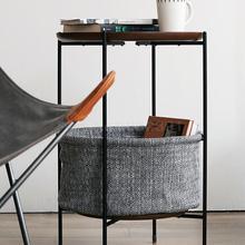Скандинавские спальни простой диван угловой несколько Ins прикроватный подвижный стол металлический Железный художественный легкий роскошный маленький чайный столик
