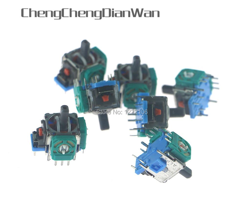 Potenciômetro para Ps4 Chengchengdianwan Analógico Joystick Miniatura Substituição Sensor Módulo Controlador Oem 50 Pces 3d