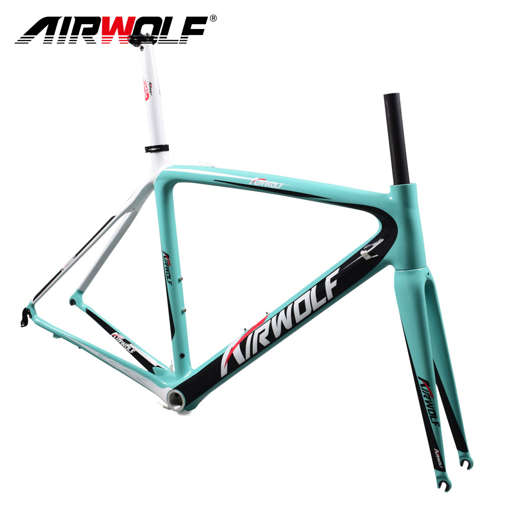 2017 Airwolf Chinese carbon road frame fit for both Di2/Mechanical ...