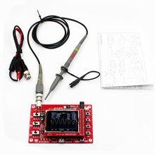 """DSO FNIRSI-138 2,"""" TFT карманный цифровой осциллограф комплект diy части ручной+ P6100 осциллограф зонд"""