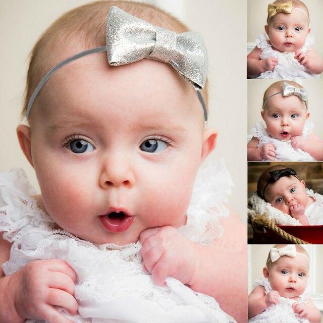 Banda de pelo arco bebé niña niños bebé recién nacido diadema de princesa accesorios caliente