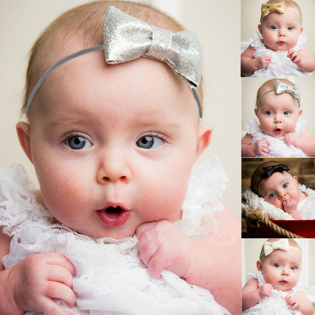 Hair Band Bow Baby Girl's Kids Newborn Infant Princess Headband Accessories Hot