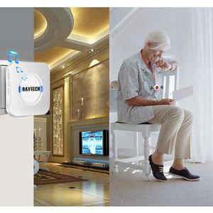 Image 3 - DAYTECH Caregiver Cercapersone Senza Fili Assistenza Domiciliare Alert Sistema di Chiamata di Chiamata SOS Bottoni Per Anziani Paziente Incinta Disabili (CC01 01A)
