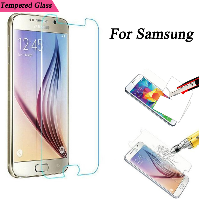 Dreamysow 2.5D Tempered Glass for Samsung Galaxy J1 J2 J3 J5 J7 A3 A5 A7 A8 2015 Note 2 3 4 5 Screen Protector Protective Film
