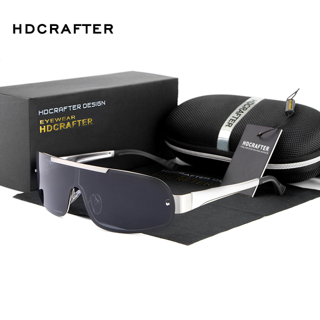 2017 Diseño de Marca Gafas de Sol con Protección UV400 gafas de Sol Polarizadas de Los Hombres Gafas de sol oculos Envío Gratis
