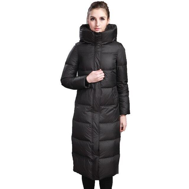 Aliexpress.com : Buy 2016 New Winter Down Jacket Women Long Goose ...
