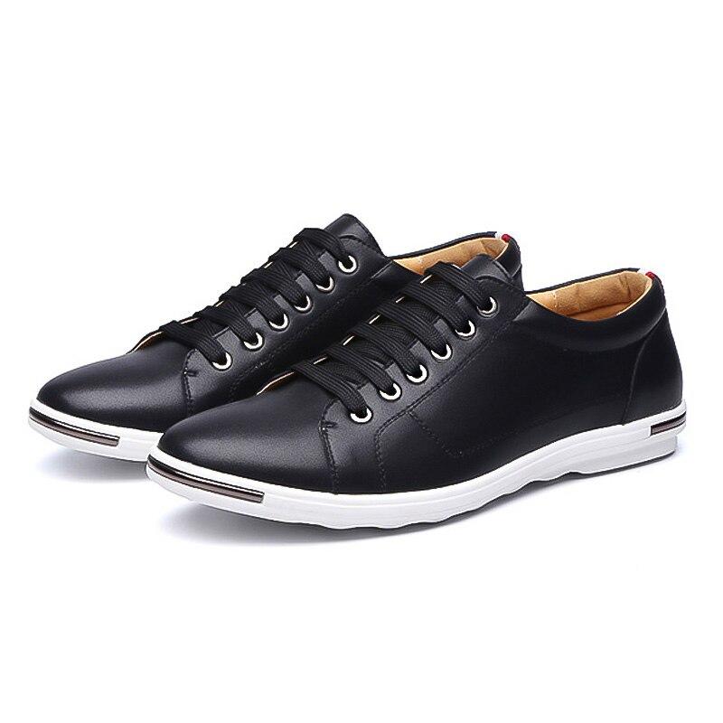 96cb79e5a LAKESHI Novo 2019 Homens Sapatos Da Marca Plana Sapatos Moda Masculina Sapatos  Masculinos Calçados do Verão Homens Confortáveis Sapatos Casuais