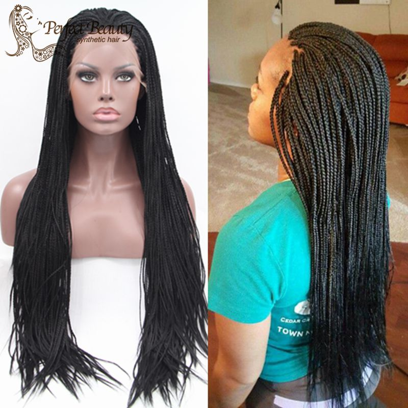 Pictures Of Long Small Box Braids - Braids
