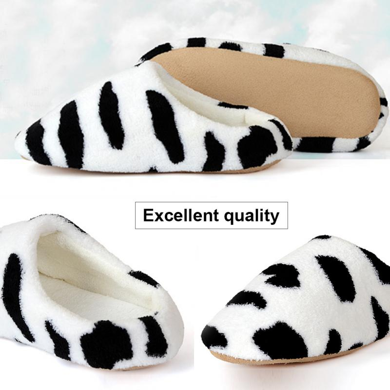 New Shoes Women Warm Winter plush Indoor House Home Anti-slip Shoes Soft Slippers unisex Shoes Sandals #20
