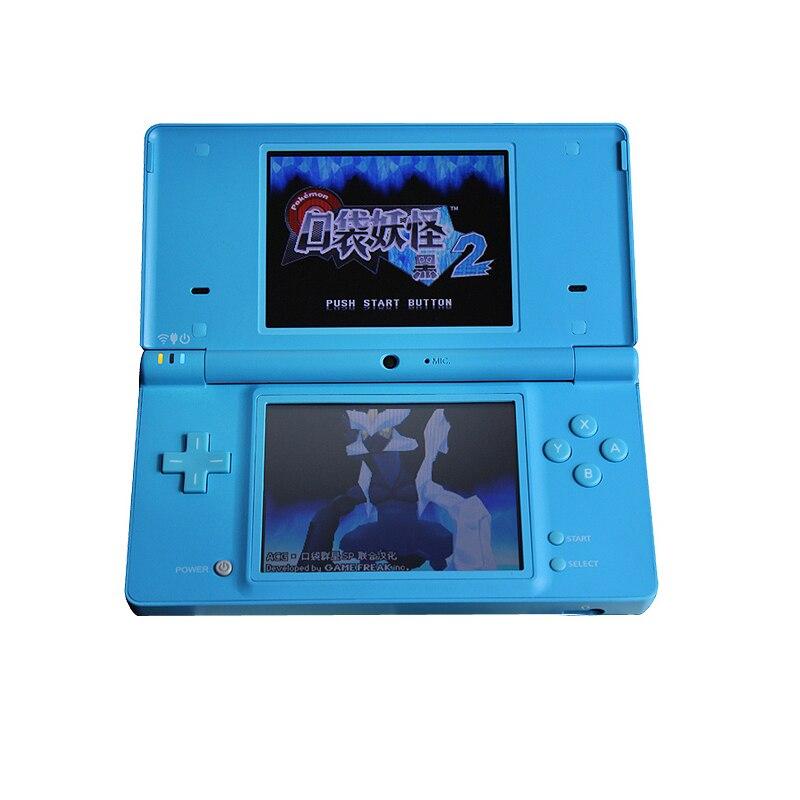Handheld Game 3 Inch Touch Screen Lcd-schermen 4-Way Cross Toetsenbord Polar Systeem & Games Console Bundel Oplader & Stylus Voor NDSi