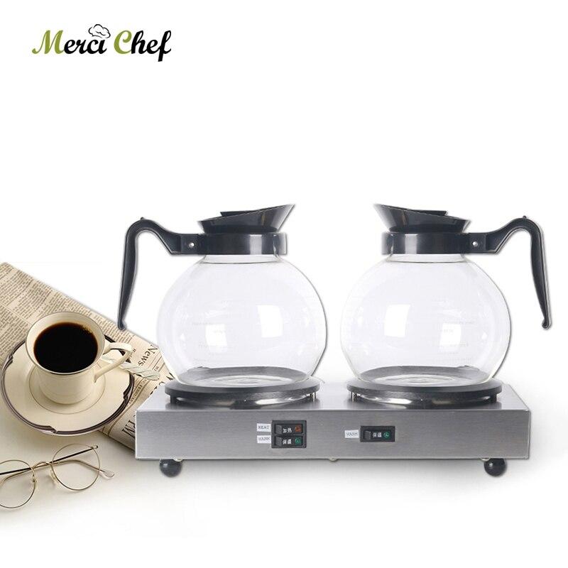 Electric 120W Coffee Machine Espresso Americano Maker For Household  With 1 Pcs Pot Tea