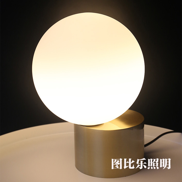 modern led glass ball table lamp Night Lighting Living Room Bed Head Simple Post  Nordic Metal Glass Ball Table Lampmodern led glass ball table lamp Night Lighting Living Room Bed Head Simple Post  Nordic Metal Glass Ball Table Lamp
