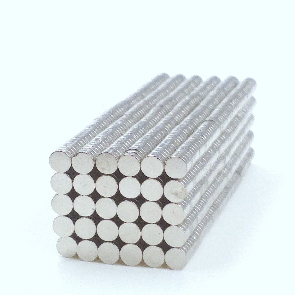 100pcs N50 Super Strong Disc Cylinder 6 mm x 3 mm Rare Earth Neodymium Magnets