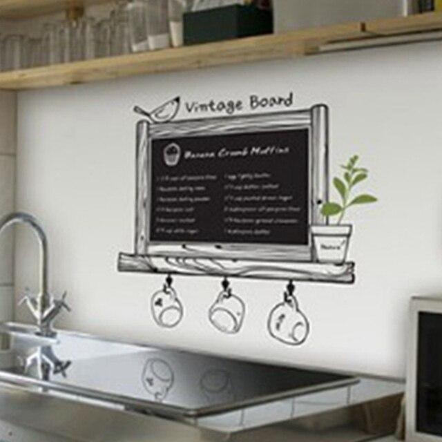 Hohe Qualität Küche Tafel Abziehbild Dekor Tafel Abnehmbare ...
