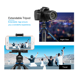 Image 4 - APEXEL 2 in 1 Phone Holder Mount Tripod DSLR Camera Phone Extendable Tripod For Gopro xiaomi iPhone Smartphone