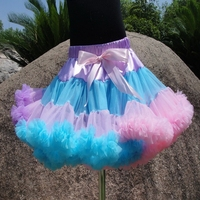 Baby Girl Kid Infant Toddler Chiffon Fluffy Pettiskirt Tutu Skirt Princess Party Dance Clothes 0 11