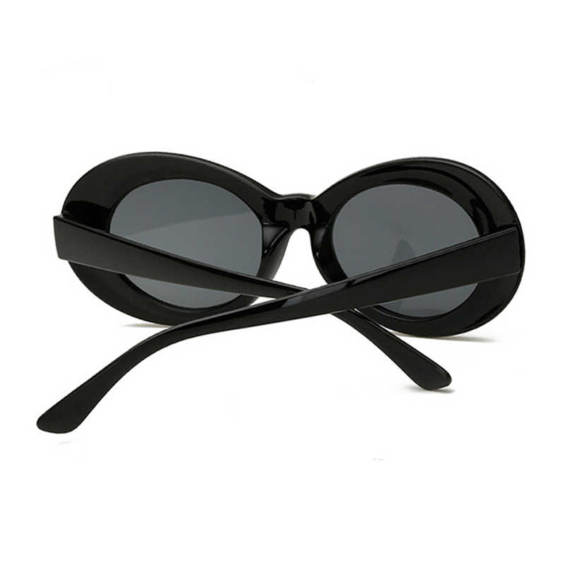 b6f13354e4052 ... Vintage Oval Sunglasses Women Brand Designer Retro Sunglass Men Fashion  Female Male Eyewear Sunglass kurt cobain ...