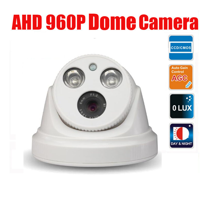 Free Shipping 960P 1.3MP AHD (Analog High Definition) IR 30m 2PCS Array LED IR Dome Camera for 500m Coaxial Cable s 350 24 350w 24v non waterproof aluminium switching power supply cooling fan