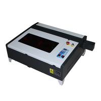 CO2 laser CNC machine 40X40CM 50W engraving machine for woodworking and cutting engraver