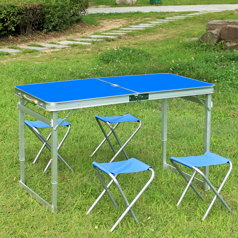 Outdoor folding table portable small table home table dining table multifunction folding desk in - Small folding dining table ...