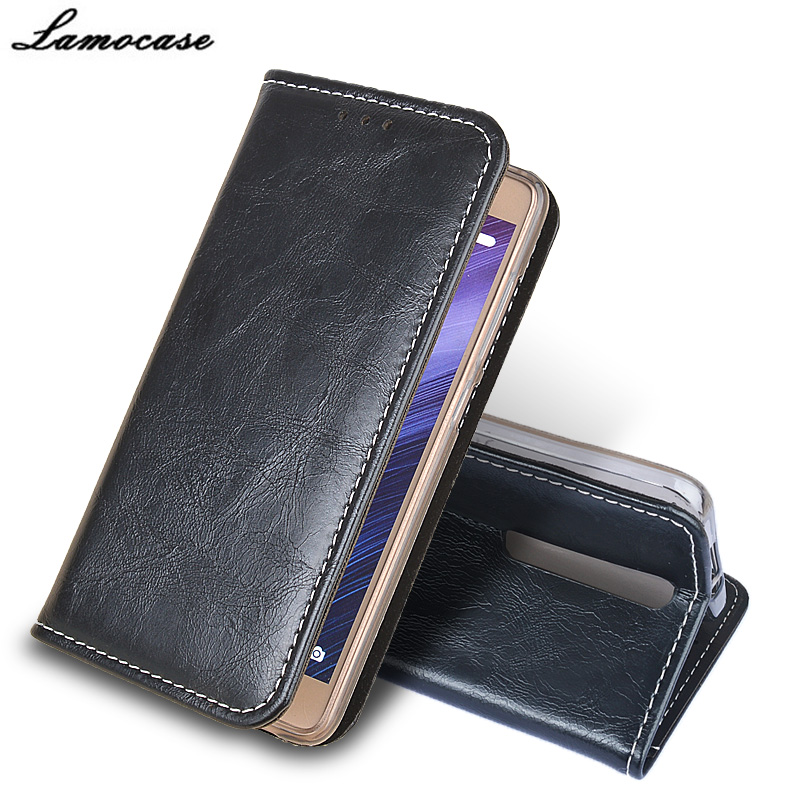 Lamocase case For ASUS Zenfone 2 ZE551ML Retro Flip Cover For ASUS Zenfone 2 ZE551ML Leather