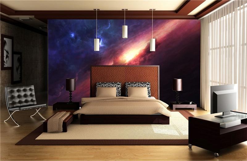 3d Charming Galaxy Wallpaper Room Decor Fantasy Photo Wallpaper