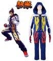 Free Shipping Tekken 6 Jin Kazama Game Cosplay Costume