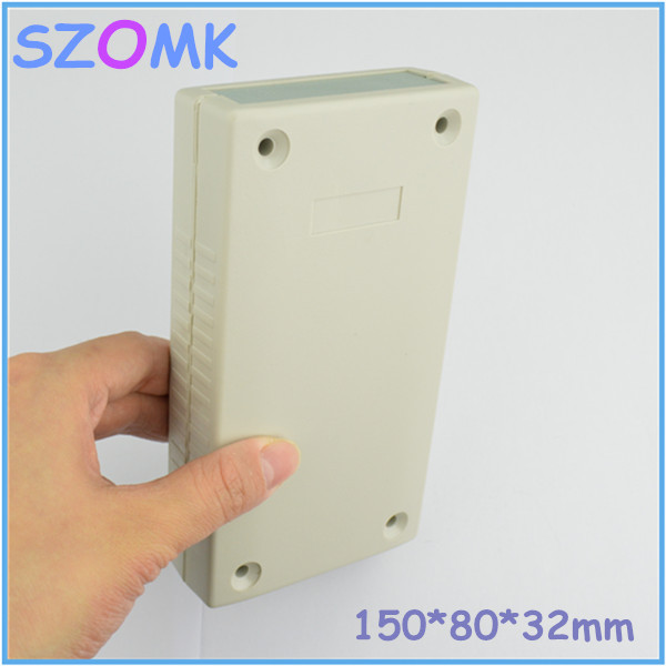 1 piece free shipping industrial abs plastic enclosures for electronics  plastic electronics project box 150 X 80X 32 MM 1 piece free shipping abs plastic electronics enclosures case housing for design and any device box could be hang up